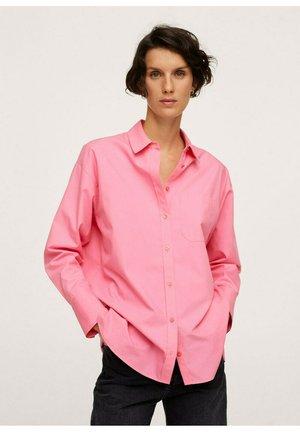 OVERSIZED - Košile - roze
