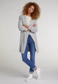 Oui - Slim fit jeans - blue denim - 1