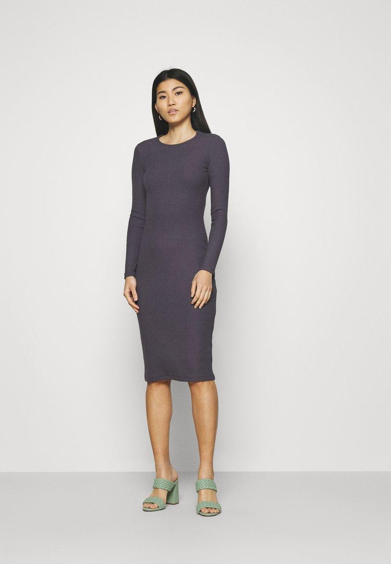 Anna Field - Gebreide jurk - dark purple