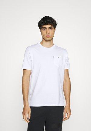SIGNATURE TEE - Basic T-shirt - white