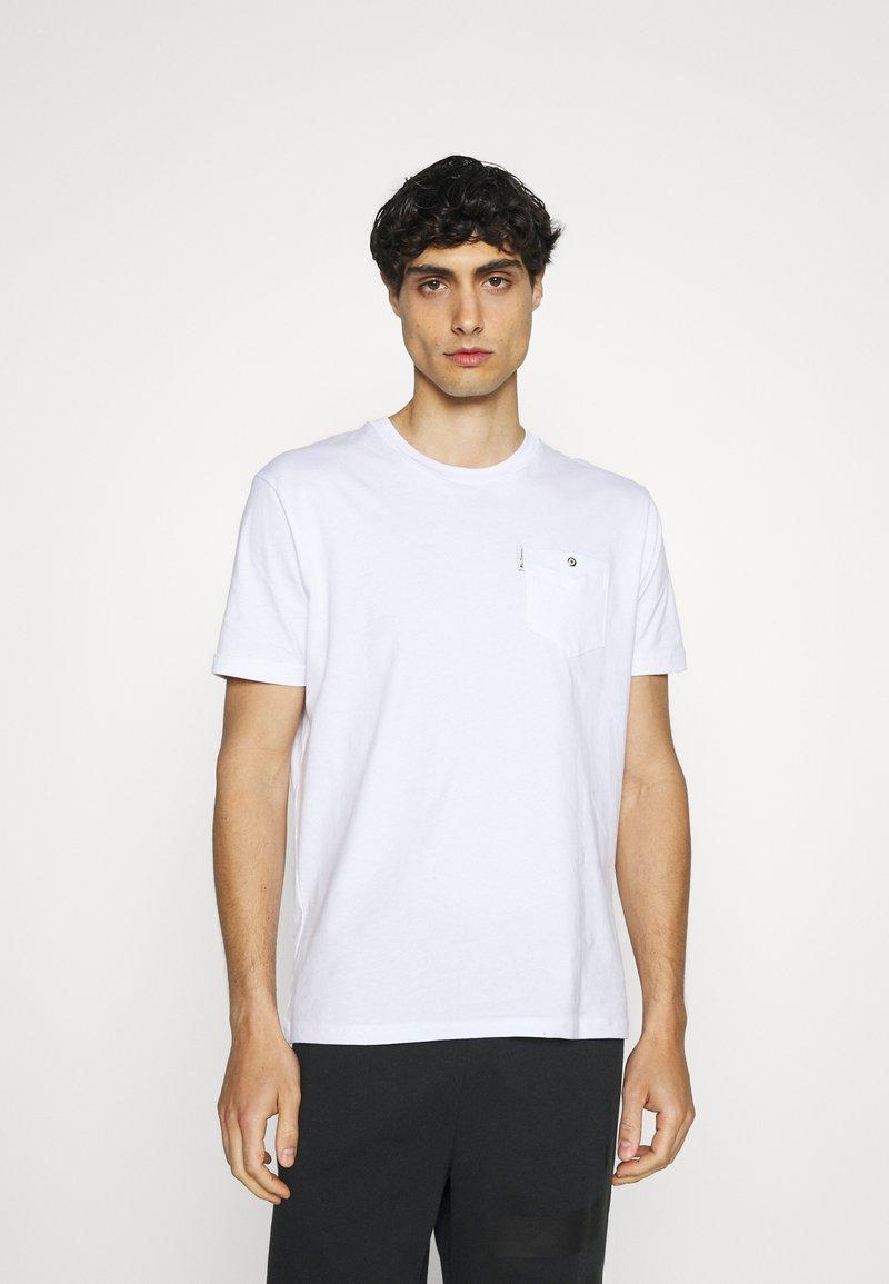 Ben Sherman - SIGNATURE POCKET TEE - Basic T-shirt - white