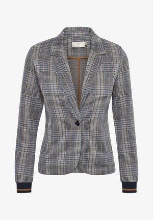 Blazer - grey/blue check