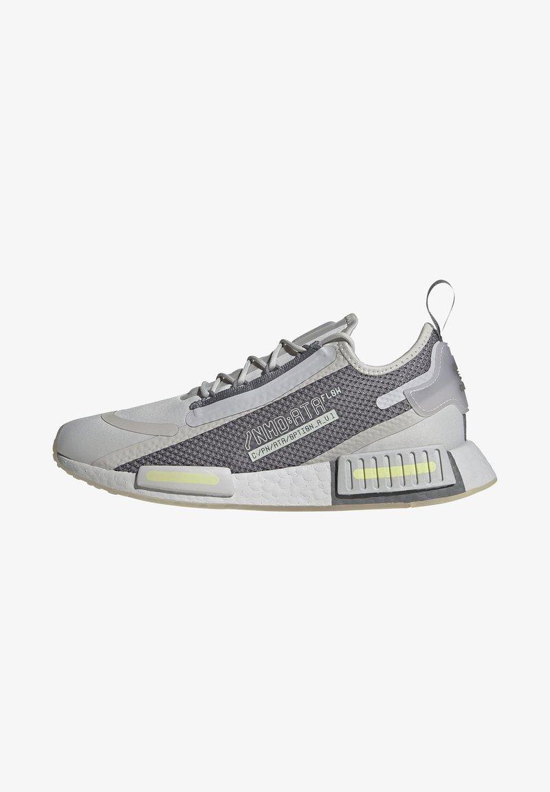 adidas Originals - NMD_R1 SPECTOO UNISEX - Sneakersy niskie - grey one/grey three/yellow tint