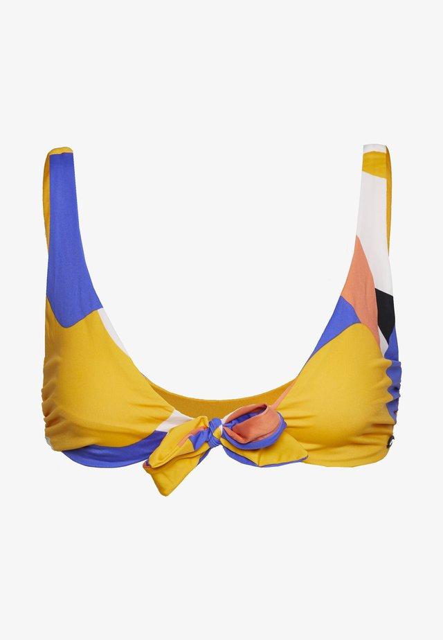 ELBAA - Bikini pezzo sopra - yellow/red