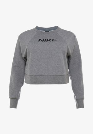 CREW PLUS - Sweatshirt - carbon heather/black