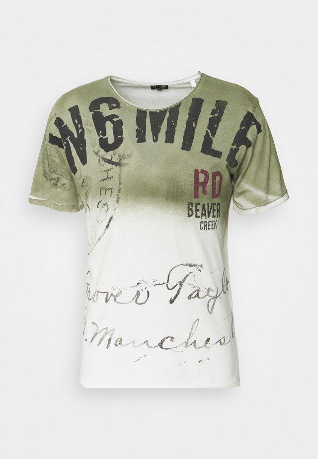 BEAVER CREEK ROUND - T-shirts print - khaki
