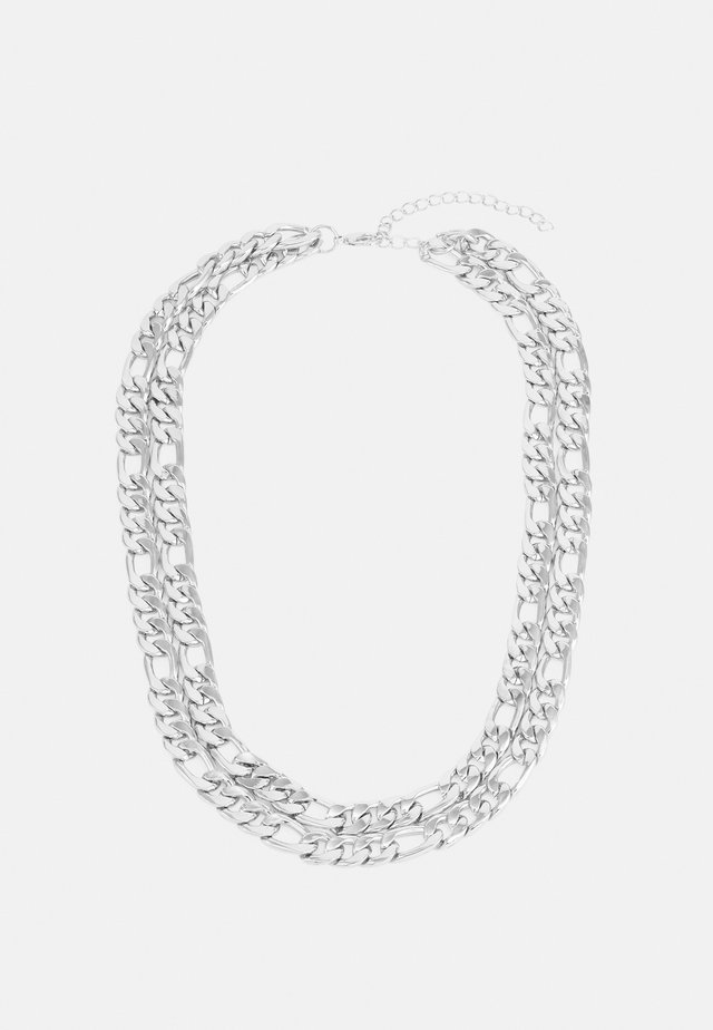 FIGARO LAYERING NECKLACE UNISEX - Necklace - silver-coloured