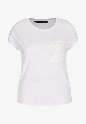 Print T-shirt - weiãŸ