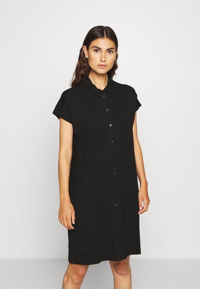 ODELLI - Shirt dress - black