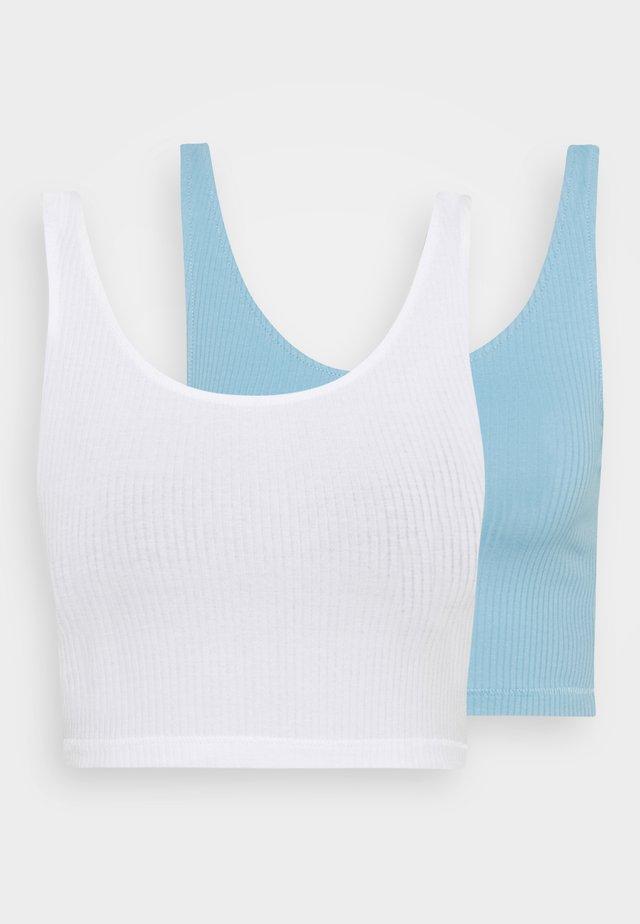 KEY 2 PACK - Topper - blue light/white