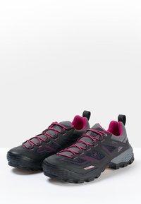 Mammut - Hiking shoes - phantom-dark pink - 2