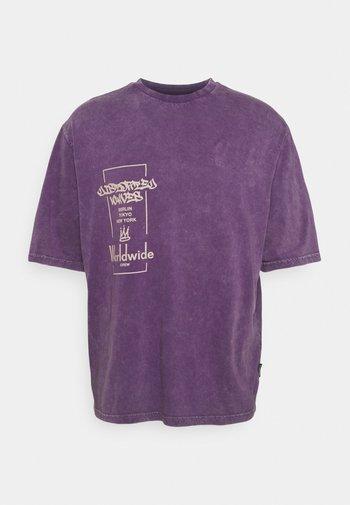 UNISEX - T-shirt print - purple