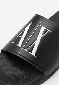 Armani Exchange - Pantofle - black - 5