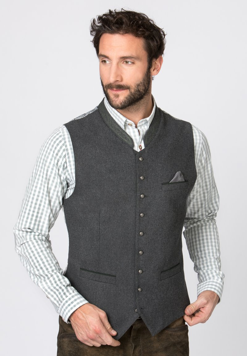 Stockerpoint - Waistcoat - dark grey