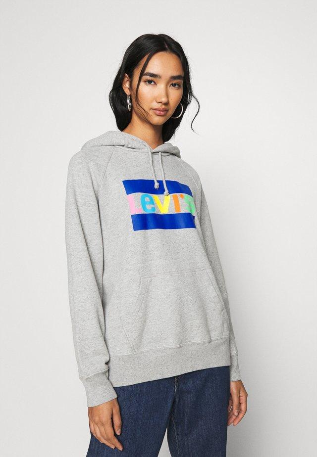 GRAPHIC SPORT HOODIE  - Bluza z kapturem - multicolors
