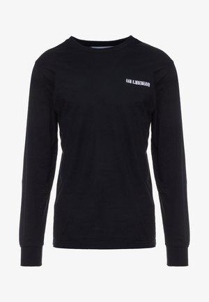 CASUAL LONG SLEEVE - Long sleeved top - black