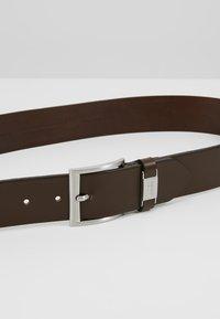 BOSS - CONNIO - Belt business - dark brown - 4