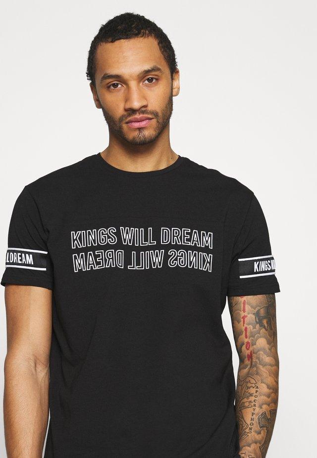 MONLOW - T-shirt print - black