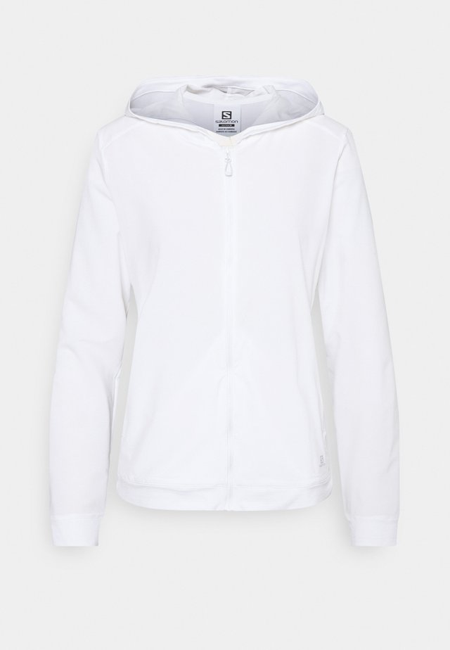 COMET LIGHT HOODIE  - Outdoor jacket - white