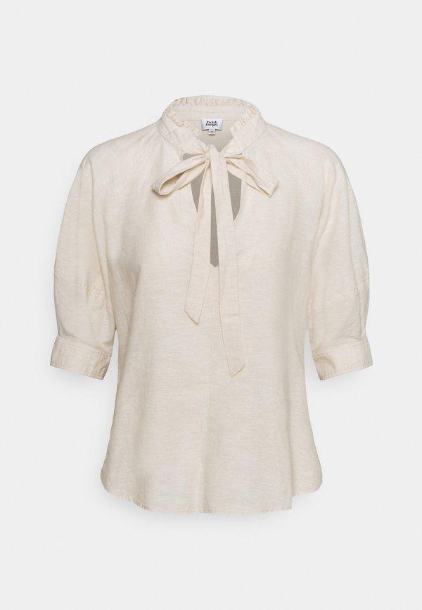Twist & Tango CELESTE BLOUSE - T-shirt z nadrukiem - neutral beige/beżowy NAKK