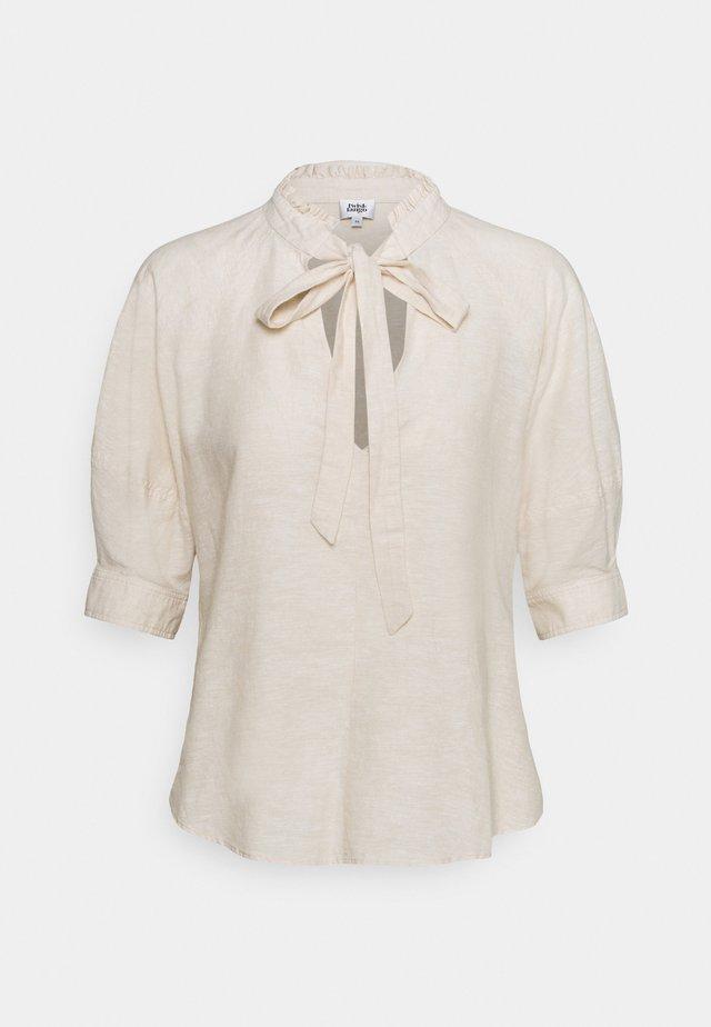 CELESTE BLOUSE - T-shirts med print - neutral beige