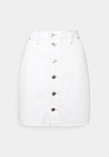 SHORT SKIRT - Minifalda - white