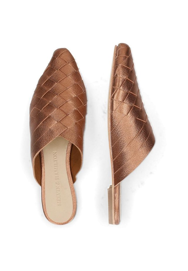 Pantofle - rose-gold