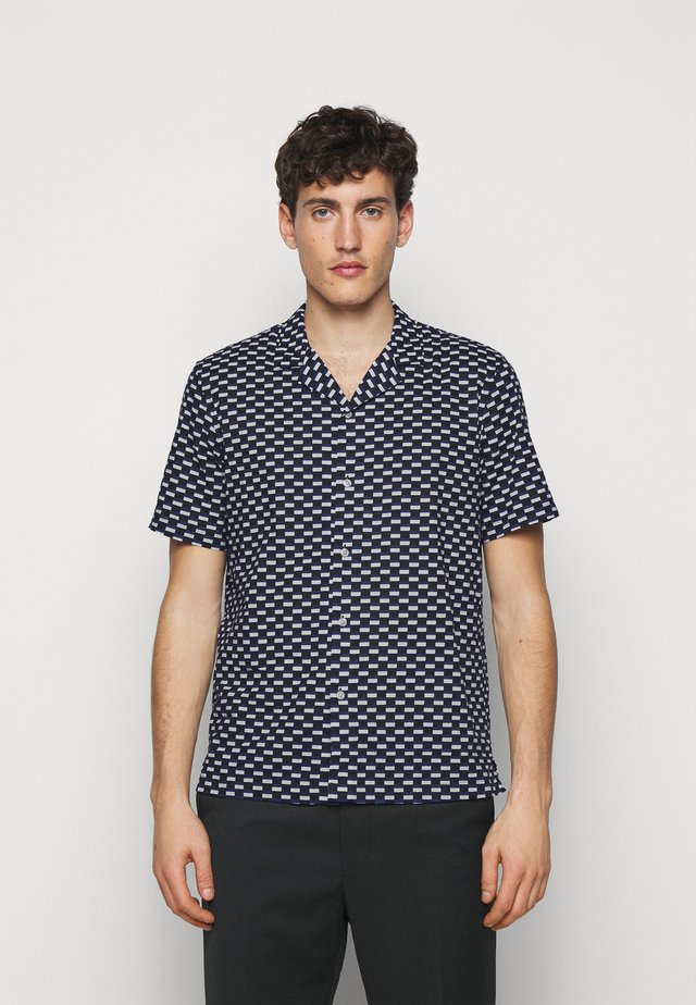RECTANGLE GEO - Shirt - dark blue multi
