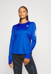 adidas Performance - SPORTS RUNNING LONG SLEEVE - Treningsskjorter - royal blue - 0