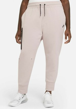 PANT - Tracksuit bottoms - champagne/black