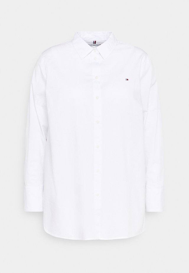 POP MONICA - Button-down blouse - optic white