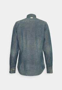 G-Star - SLIM - Shirt - heavy lock chambray antic faded aegean blue - 1
