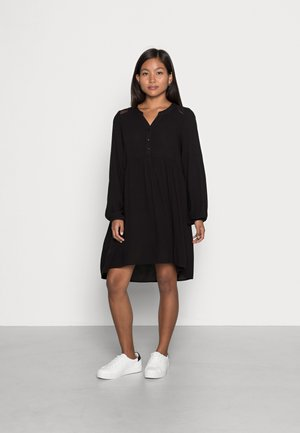 VMNEWDEBBIE V NECK DRESS - Day dress - black