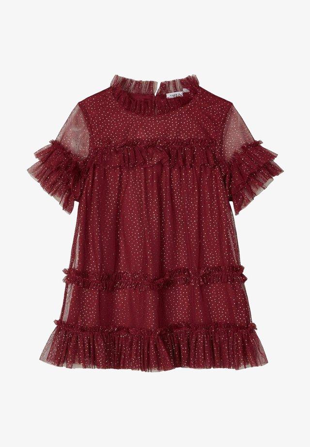 Sukienka koktajlowa - cabernet