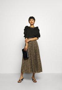 Birgitte Herskind - NESSA LONG SKIRT - A-line skirt - brown - 1