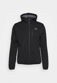 Calvin Klein Golf - ULTRON HOODED JACKET - Waterproof jacket - black - 3