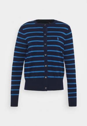 PIMA STRETCH - Cardigan - blue multi