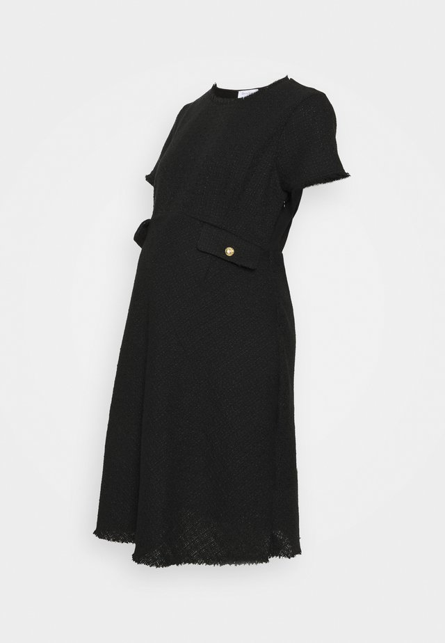 JAELYN BIAS DRESS - Day dress - black
