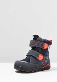 Lurchi - KEV SYMPATEX - Snowboots  - atlantic/orange - 2