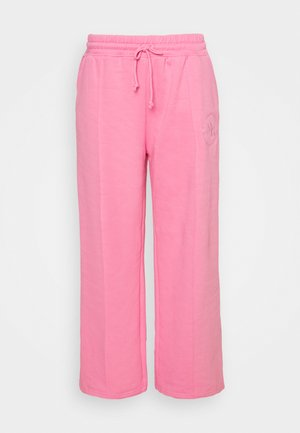 WIDE LEG JOGGER - Tracksuit bottoms - pink