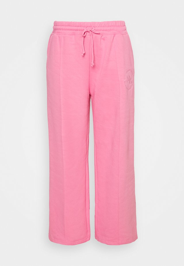 WIDE LEG JOGGER - Trainingsbroek - pink