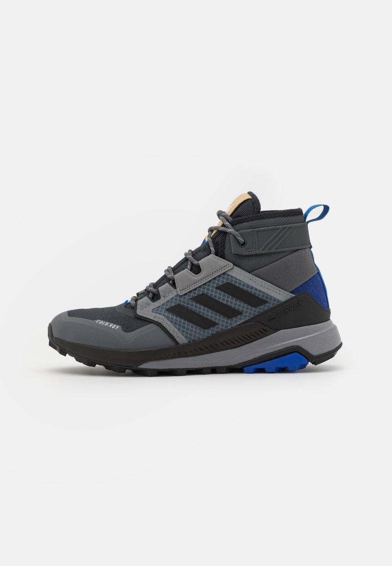 adidas Performance - TERREX TRAILMAKER MID COLD.RDY - Hikingskor - grey six/core black/halo blue