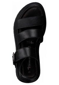 Tamaris - Platform sandals - black uni - 1