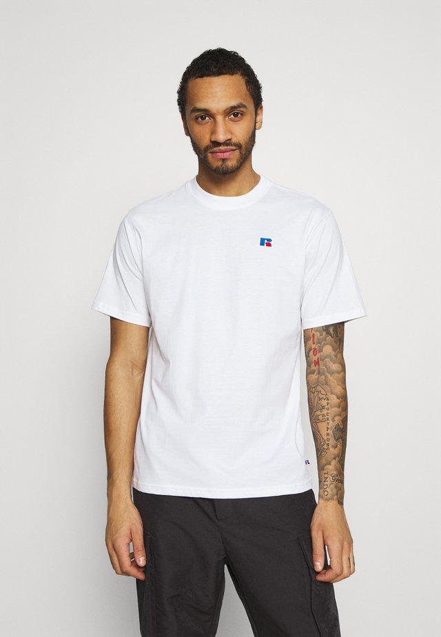 BASELINER ICONIC REGULAR TEE UNISEX - T-paita - white