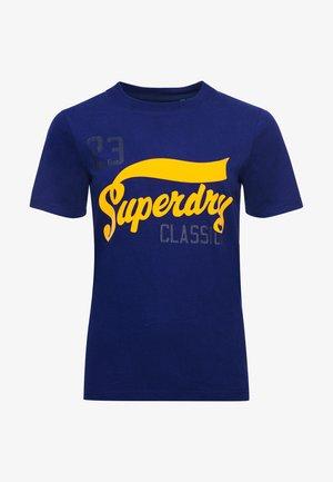 COLLEGIATE CALI STATE - Print T-shirt - neptune blue