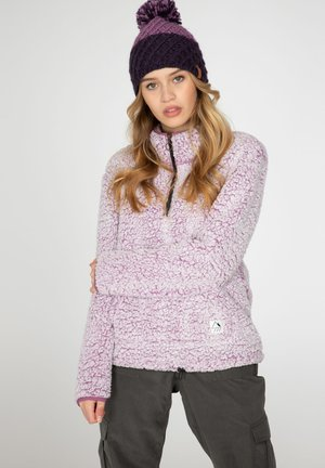 CAMILLE - Fleece jumper - very grape