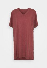 ONLY - ONLLISE OVERSIZE  WASHED - Pyjama top - fired brick - 0