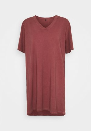ONLLISE OVERSIZE  WASHED - Pyjamashirt - fired brick