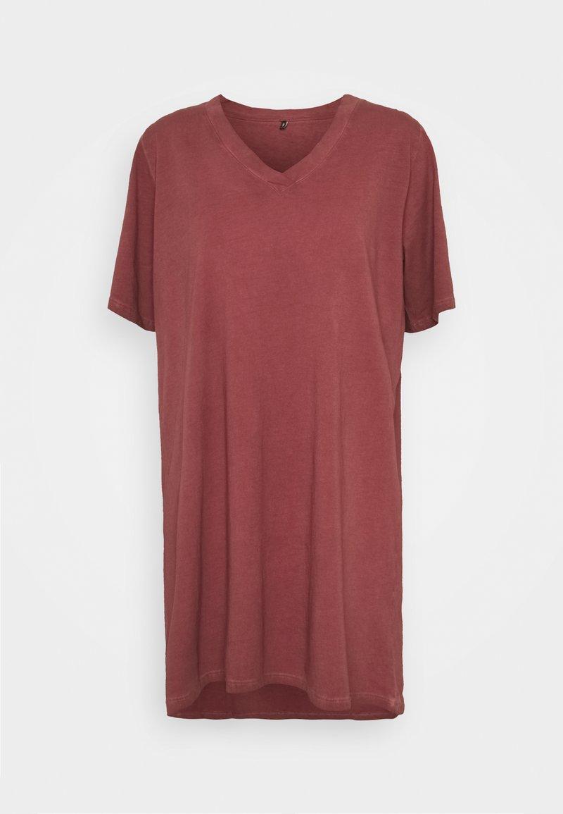 ONLY - ONLLISE OVERSIZE  WASHED - Pyjama top - fired brick