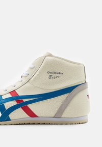 Onitsuka Tiger - MEXICO MID RUNNER UNISEX - High-top trainers - white/blue - 5